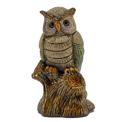 Rinconada 2017 Collection, small OWL on tree trunk, 3.2¨H, #AR817