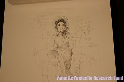 Personal Property of Annette Funicello Orig Art Mickey Mouse Club Spin & Marty