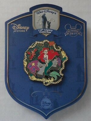 Disney Pin Disney Store 110th Legacy Collection Ariel The Little Mermaid Le250