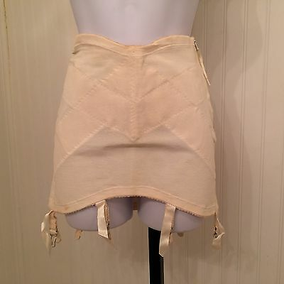 vintage 1950's Gossard girdle with garters