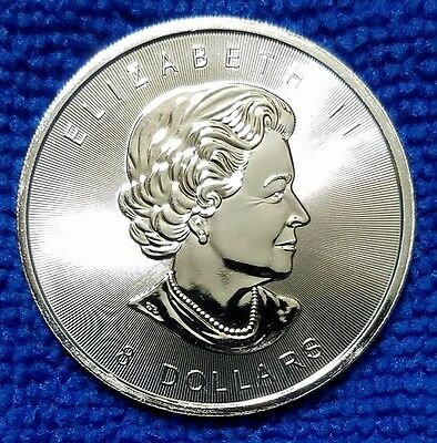 2015 Canadian Bison $8 Coin, 1.25 Ounce .9999 Fine Silver