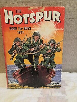 The Hotspur Annual Book for Boys 1971