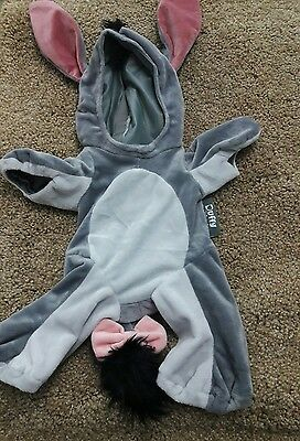 Disney Parks Winnie the Pooh's EEYORE Duffy Bear Costume Outfit Only