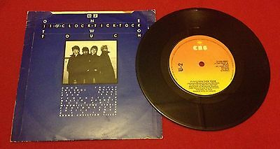 "U2 11 O' Clock Tick Tock UK TM Nos 1st Press 7"" Rarer than a Promo"