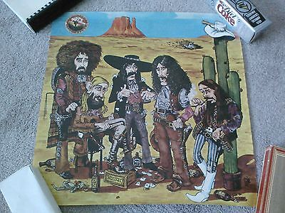New Riders Of The Purple Sage Record Company Promotional Poster Not Dead