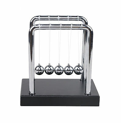 Newtons Cradle Balance Balls by Westminster Desk Toy Kenetic Educational Gravity