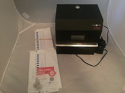 Pyramid 3700 Heavy Duty Steel Time Clock and Document Stamp