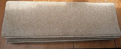 12x STAIR PADS / TREADS warm BEIGE COLOUR VERY GOOD QUALITY  BN CHEAP #3166