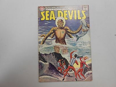 Sea Devils #22! (1965, DC)! FN6.0+! Silver age DC beauty! CHECK IT OUT!