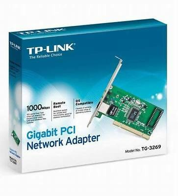 TP-Link TG-33269PCI Express Gigabit Ethernet Adapter Network Card