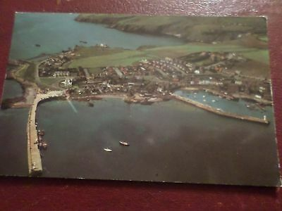 Postcard Aerial View Port St. Mary Isle of Man