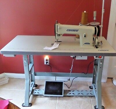 Sewing machine 31-15 upholstery canvas quilters binding alterations leather Heav