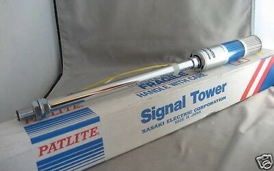 Patlite Signal Tower SL-V SL-212V Blue 120V New
