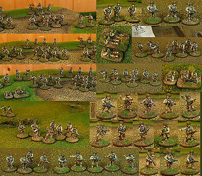 WW2 United States miniatures 15mm (85+ infantry and vehicles) Flames of War