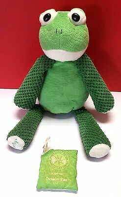 Scentsy Buddy Ribbert Frog Air Freshener Plush Collectible Toad Fragrance 15""