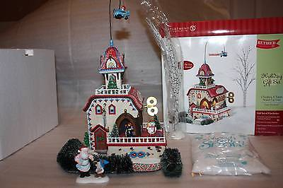 DepT 56 North Pole Village CHECKING IT TWICE WIND-UP TOYS 56.56757 Retired