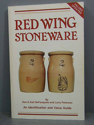 "Ccollectors Guide To ""red Wing Stoneware"" Jugs Marks Sponge Ware Bowls Pipkins"