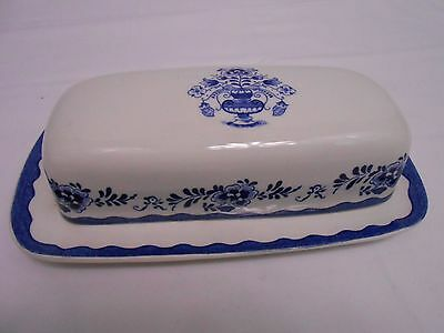 Johnson Brothers Stoke-On-Trent England Holland Butter Dish Nice Vintage RARE