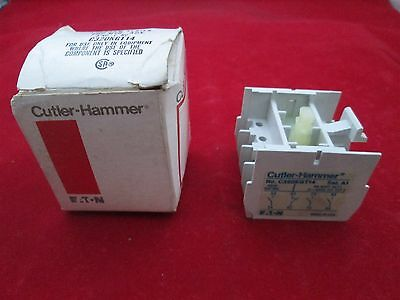 Cutler Hammer G320KGT14 Auxiliary Contact new