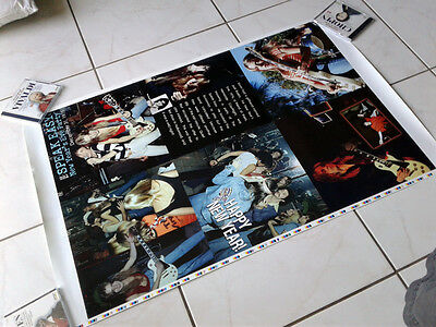 RANDY RHOADS Poster Uncut Proof Sheet RANDY RHOADS The Quiet Riot Years Book