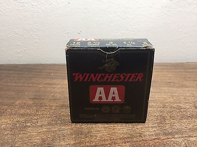 "WINCHESTER AA Shotgun Shell Empty Box ~ 12ga./2 3/4"" / 8 shot- Heavy Target Load"