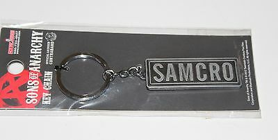 Sons Of Anarchy SoA New Keychain Keyring Key Chain Samcro Official 20th Century