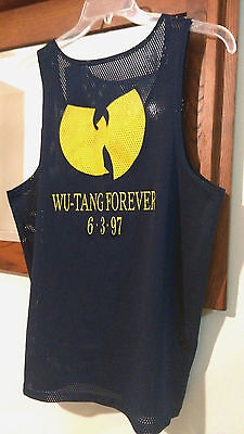 *TRUE VINTAGE* RARE Wu-Tang Forever 6-3-97 Album Release Promo Basketball Jersey