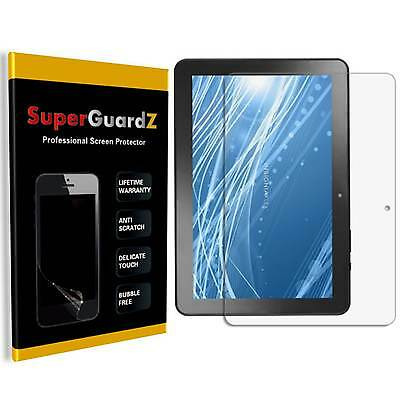 """3X SuperGuard® Clear Screen Protector Shield For Insignia 10"""" (NS-P10A7100)"""