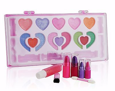 Pinkleaf Beauty Girls Washable Makeup Cosmetic kit, Special Designed For Kids,