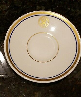 Vintage Department of the Navy Demitasse Saucer Shenago China New Castle, PA