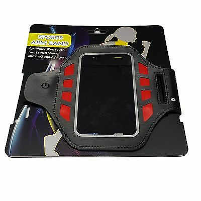 Running LED ArmBand Iphone 6s 7 Samsung Galaxy S6 S7/ S7 edge S8 Sport Traning