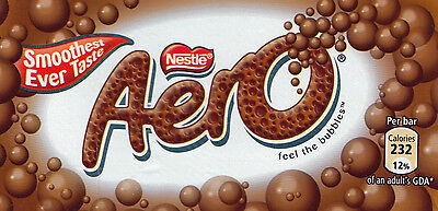 12X Fresh Nestle Aero Bubble chocolate candy bar from Canada standard 50g Nestle
