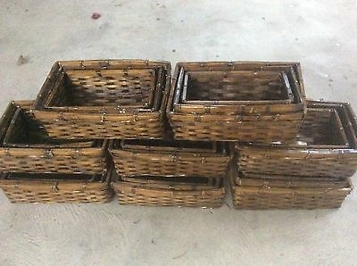 27 Storage Baskets / Basket Trays / hamper baskets