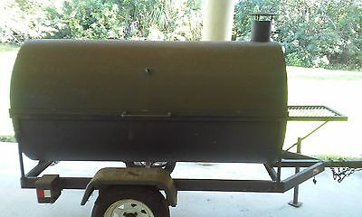 Supercooker Commercial Bbq Grill With Trailer Super Cooker Barbecue Grill Smoker