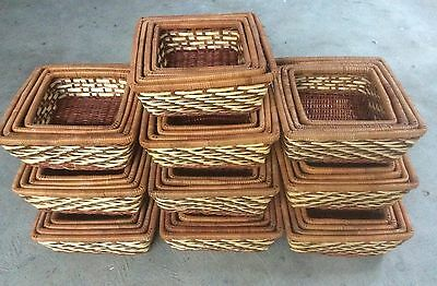 40 Storage Baskets / Basket Trays / hamper baskets