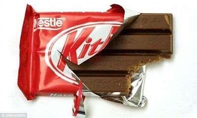 48 Fresh bars Nestle Kit Kat Chocolate bars From Canada FREE SHIPPING