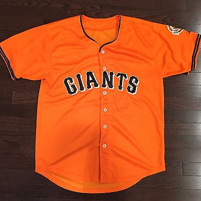Will Clark San Francisco Giants MLB Majestic Cool Base Jersey Mens Size M Sewn