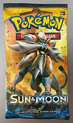 Factory Sealed Pokemon Sun & Moon Base Set Booster Pack SELLING FAST!!