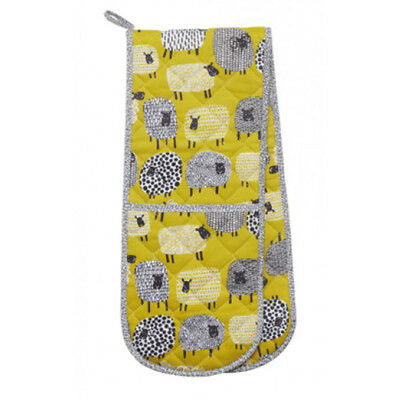 NEW Ulster Weavers Dotty Sheep Double Oven Glove