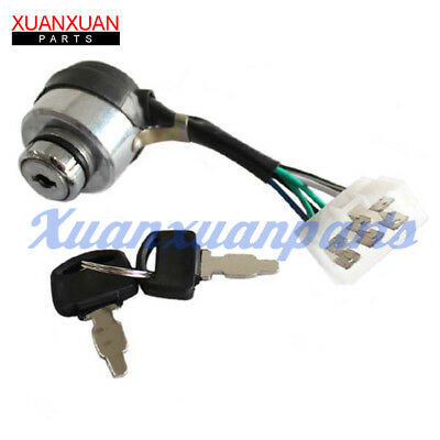 6-Wire Generator Ignition Key Switch For 207CC 208CC 211CC 212CC 6HP 6.5HP 7HP
