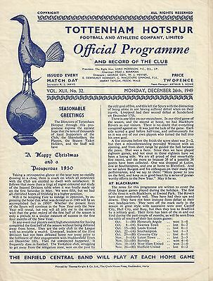 TOTTENHAM v CHESTERFIELD - 1949/50