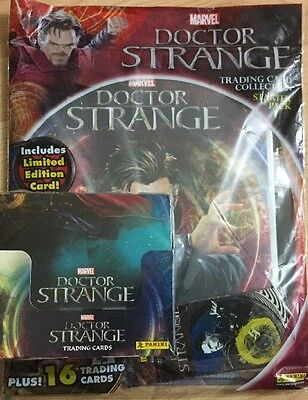 Marvel Doctor Strange Trading Cards Full Box & Starter Pack
