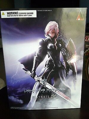 Play Arts Kai Lightning Returns: Final Fantasy XIII Lightning figure