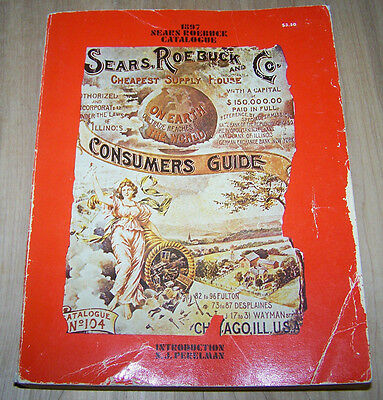 1897 Sears Cataloge   reprint  from 1976..