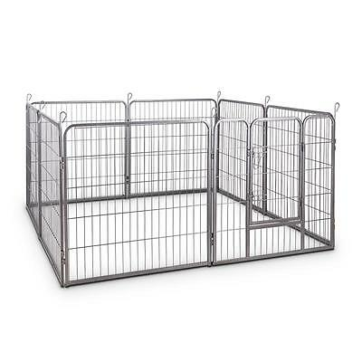 Oneconcept Home & Garden Pet Enclosure Fence Free Running Training