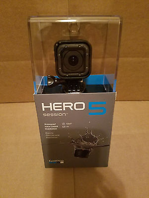 GoPro HERO5 SESSION 4K Waterproof Action Camera 10MP w/ Voice Control CHDHS-501
