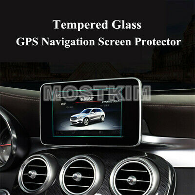 For Benz C Class W205 C180 C200 Tempered Glass GPS Navigation Screen Protector