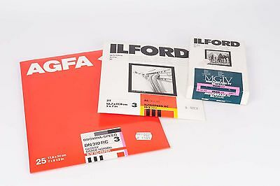 Ilford Ilfospeed RC 8,9x14cm MG , 12,7x17,8 cm Semi -Mate Agfa Brovira CADUCADO