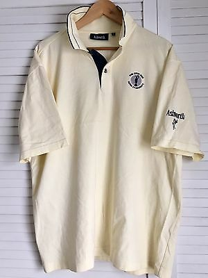 The Open Golf Ashworth Royal St Georges 2003 Official Polo Mens Large