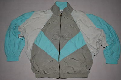 Trainings Jacke Sport Jacket Track Top Vintage Bad Taste 90er Fledermaus Ar M 40